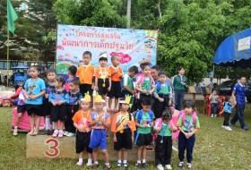 บรรยากาศโครงการส่งเสริมพัฒนาการเด็กปฐมวัน