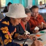 โครงการส่งเสริมการฝึกอาชีพให้ผู้สูงอายุ การทำดอกไม้จันทน์-การจักสานไม้ไผ่ ประจำปีงบประมาณ พ.ศ. ๒๕๖๓