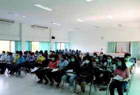 จัดหารือการจัดทำหน้ากากอนามัยแบบผ้า ตามโครงการพลังคนไทยร่วมใจป้องกันไวรัสโคโรน่า(COVID-๑๙)